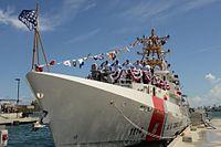 Commissioning the USCGC Heriberto Hernandez (WPC 1114) -- 2015 10 16