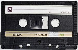 TDK - A TDK SA-90 compact cassette