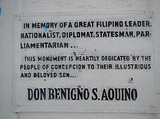 Benigno Aquino Sr. - Image: Concepcion,Tarlacjf 0026 07