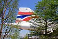 Concorde tail, Intrepid Sea, Air and Space Museum, New York. (45738939895).jpg