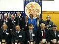 Congresswoman Pelosi at a Nisei Veterans Event (8282424858).jpg