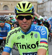 Alberto Contador, at the 2015 Route du Sud