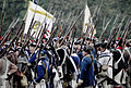 Continental Troops Parading at Surrender Ceremonies - Yorktown 225th Event October 2006.jpg