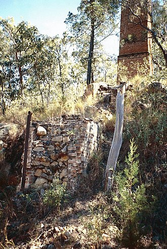 Silver Valley, Queensland - Remains of the Coolgarra Battery, Silver Valley