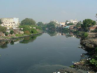 Cooum River - Cooum River in Chennai.