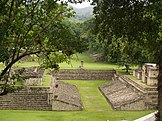 Maya ruins at Copán
