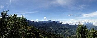 Cordillera de Talamanca - View of Cordillera de Talamanca range at Estación Biológica Cuericí.