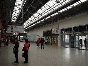 Cork Kent railway station - Image: Cork Station 1