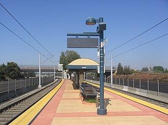 Cottle station - Cottle Station platform, 2012