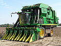 Cotton picker, Brooks County cotton field.JPG