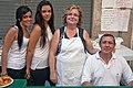 Couple with helpers in Orihuela, Spain.jpg