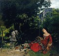Courbet - Woman with Garland, 1856.jpg