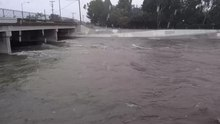 File:Coyote Creek During a Heavy Rain Storm.webm