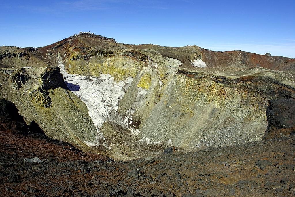 Crater of Mount Fuji & Kengamine