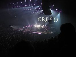 Creed returning for an encore in Salt Lake City, October 2009
