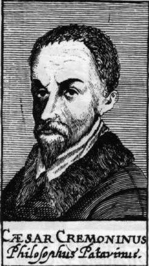 Accademia degli Incogniti - Cesare Cremonini, whose teachings inspired the Accademia degli Incogniti