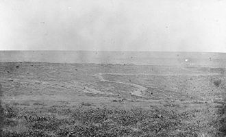 Battle of Inkerman - The Field of Inkermann, with the trenches