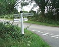 Crossroad sign - geograph.org.uk - 34986.jpg