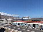 Crucero Britannia en el Puerto de Santa Cruz, Tenerife, España, 2015.JPG