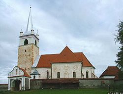 Roman Catholic fortified church