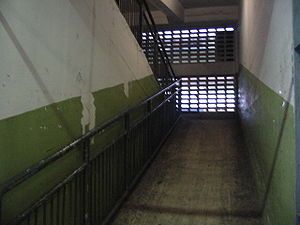 Public factory estates in Hong Kong - Ramp inside the Cheung Sha Wan Factory Estate, which did not have lifts.