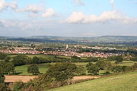 Cullompton, Devon, the town from the south west (geograph 57332).jpg