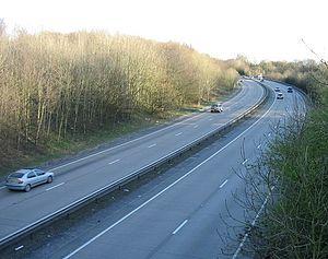 A4232 road - Image: Culverhouse Cross Link road