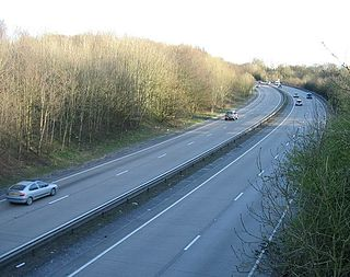 A4232 road Road in Cardiff, Wales
