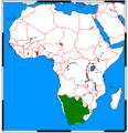 Cynictis penicillata range map.png