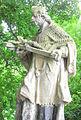 Czadrów (DolnyŚląsk) figura św. Jana Nepomucena (Aw58).JPG