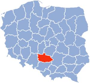 Częstochowa Voivodeship - Częstochowa Voivodeship