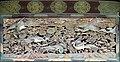 Décor du linteau à l'entrée du palais Ninomaru (Château de Nijo, Kyoto) (43105940821).jpg