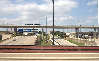 Dallas/Fort Worth International Airport - The International Parkway Toll Road intersects the airport