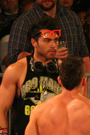 DJZ - When Ion aligned himself with The BroMans, he changed his name and gimmick to DJZ.