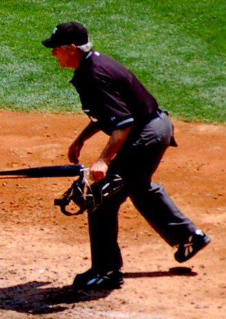 Mike Reilly (umpire) - Reilly umpiring on May 17, 2008