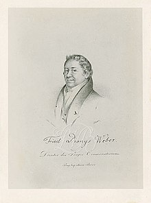 Weber portrayed by Josef Eduard Teltscher (Source: Wikimedia)