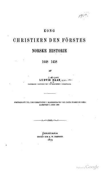 File:Daae - Christiern den Førstes norske Historie.djvu
