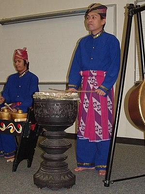 Dabakan - Playing the dabakan as part of the kulintang ensemble