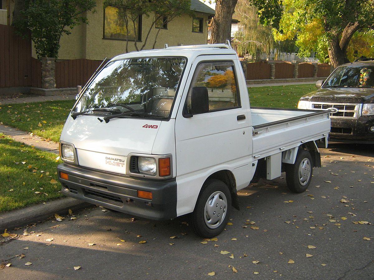 Daihatsu Hijet — Википедия