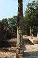 Damaged Maya Stela at Calakmul Mexico 10.JPG