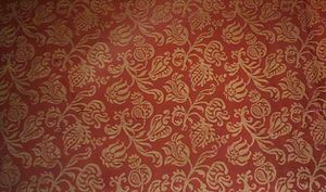 Damask - Damask with floral sprigs, Italy, Baroque, 1600-1650, silk two-tone damask