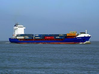 MV Baltic Ace - Corvus J, formerly Dana Gothia, collided with Baltic Ace on 5 December 2012.
