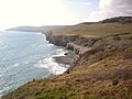 Dancing Ledge from east.JPG