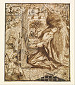Dante Gabriel Rossetti - Design for Moxon's Tennyson - Saint Cecilia - Google Art Project.jpg