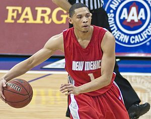 Darington Hobson - Hobson in 2009 with New Mexico