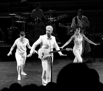 Songs of David Byrne and Brian Eno Tour - Byrne both performed music and danced with the performers
