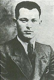 David Raziel, commander of the Irgun