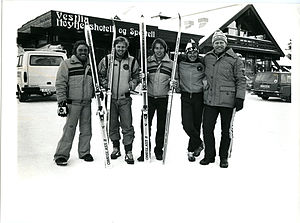 1980 Winter Paralympics - Australian paralympic team at the 1980 Winter Paralympics