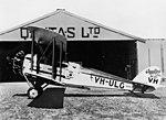 De Havilland DH.50J VH-ULG Hippomenes of Qantas at Longreach.jpg