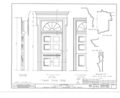 Dean's House, 73 Nassau Street, Princeton, Mercer County, NJ HABS NJ,11-PRINT,4A- (sheet 6 of 9).png